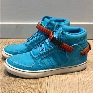Adidas High Top Basketball Shoe Zarape Detail